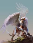 シャルベーシャ(ライオンに翼が生えたの)