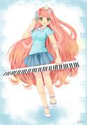 ピアノ少女