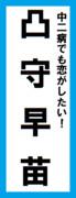 オールスター感謝祭の名前札(凸守早苗ver.)