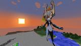 【Minecraft】ゼルダの伝説・ミドナのドット絵【トワイライトプリンセス】