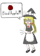 魔理沙「Bad Apple!!」