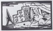 切り絵 東京テディベア