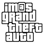 アイマス×GTA風なロゴ