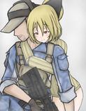 縦セタで疲れた工兵を抱擁するヤマメ(笑)