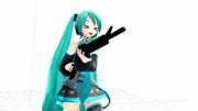 【GIFアニメ】Miku with gun