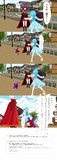 【ネタバレ注意!!】蛮奇ちゃんと小傘ちゃん【グロも注意!!】MMD4コマ