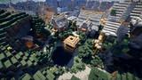 【Minecraft】 山岳都市に手を出し始めました