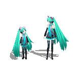 【GIFアニメ】 Neko Sisters