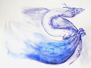 紫紺のドラゴン