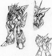 超絶無敵強攻型アーマー「スーパーサーディオンゴッド」