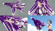 【MMD】 F-14D-THE IDOLMASTER2 AZUSA- 【テクスチャ配布】