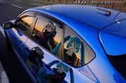 サンセット車窓