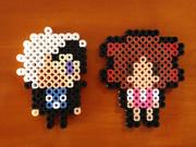 【アイロンビーズ】ブラックジャック&ピノコ