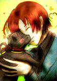 フェリとドイツ猫