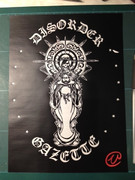 切り絵「the GazettE / DISORDER」