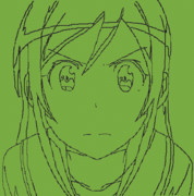 【minecraft】新垣あやせ【線画ドット絵】
