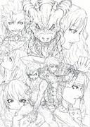 【セルフリメイク】DORAGON HEARTS~滅びゆく世界と竜の唄~【after】