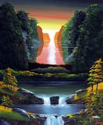 桂林の滝14
