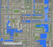 舞倉市 市街地地図