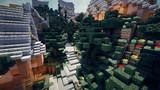 【Minecraft】 山岳都市の道