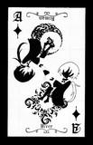 【コラボ】トランプ風イヴェール【紫と白鴉】