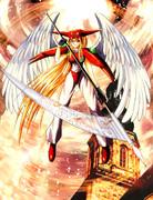 赤い羽根の天使
