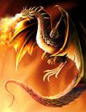 初描きドラゴン