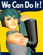 【MMD再現選手権】We Can Do It!