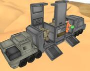 【MMD】WAW用輸送車両ver1.0【配布】