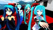 みくみくな女子会ドライブ