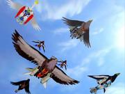 リベルニア空軍異種編隊飛行