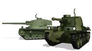三式中戦車(旧軍カラー追加)