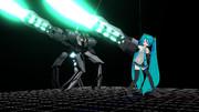 【MMD武器】グラウコス【モデル配布あり】