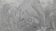【シャーペン】進撃の巨人OP(調査兵団)①戦う覚悟だ♪