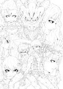 【セルフリメイク】DORAGON HEARTS~滅びゆく世界と竜の唄~【ペン入れ】