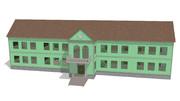 【MMDステージ配布あり】木造校舎ステージ