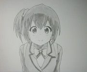 1年ぶりに絵を描いてみた