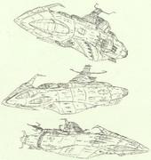 三種の姿を持つ艦