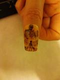 【痛ネイル】爪に進撃の巨人を描いてみた。