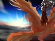 雲の上の妹紅
