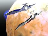 Shadeで作った宇宙船