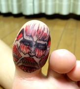 進撃の親指
