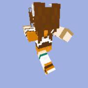 【MineCraft】空の軌跡SCエステル・ブライトのスキン髪有ver.後姿