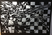 【切り絵】 ブラック★ロックシューター