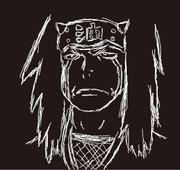 【NARUTO】自来也【線画】
