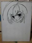 ニャル子(途中模写)