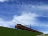 お盆時の列車