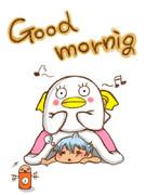 Good morning坂田☆