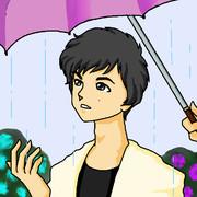 エハミックさん「傘忘れちゃった…」