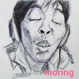 ボールペン10分で生主さんのウナちゃんマン描いてみた☆